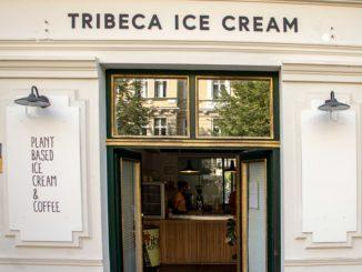Storefront Tribeca ice cream shop